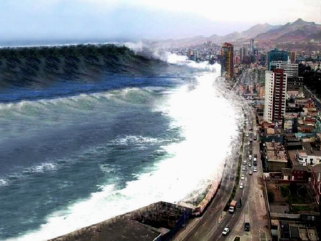 Tsunami Wave Propagation: Indian Ocean - December 26, 2004